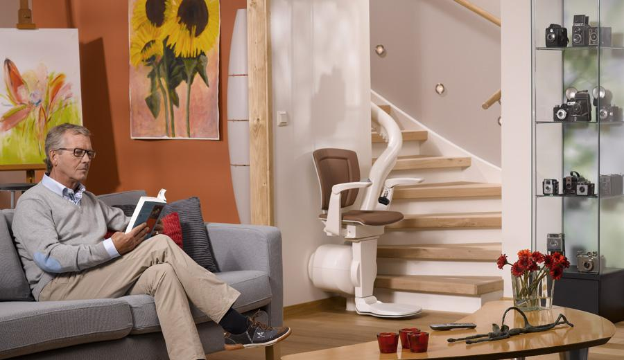 Otolift stairlifts in the Costa Blanca, Spain