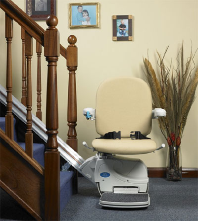 minivator with the stairlifts