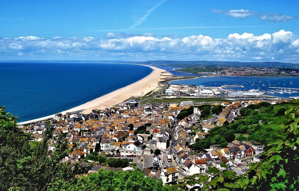 Chesil Beach Portland Dorset England UK